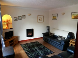 Living Room, Dunkeld Self Catering Birnam Holiday Cottage