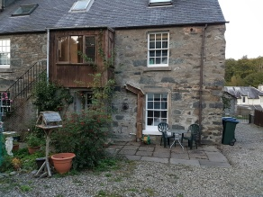 Rear, Dunkeld Self Catering Birnam Holiday Cottage